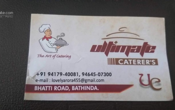 Ultimate Caterers
